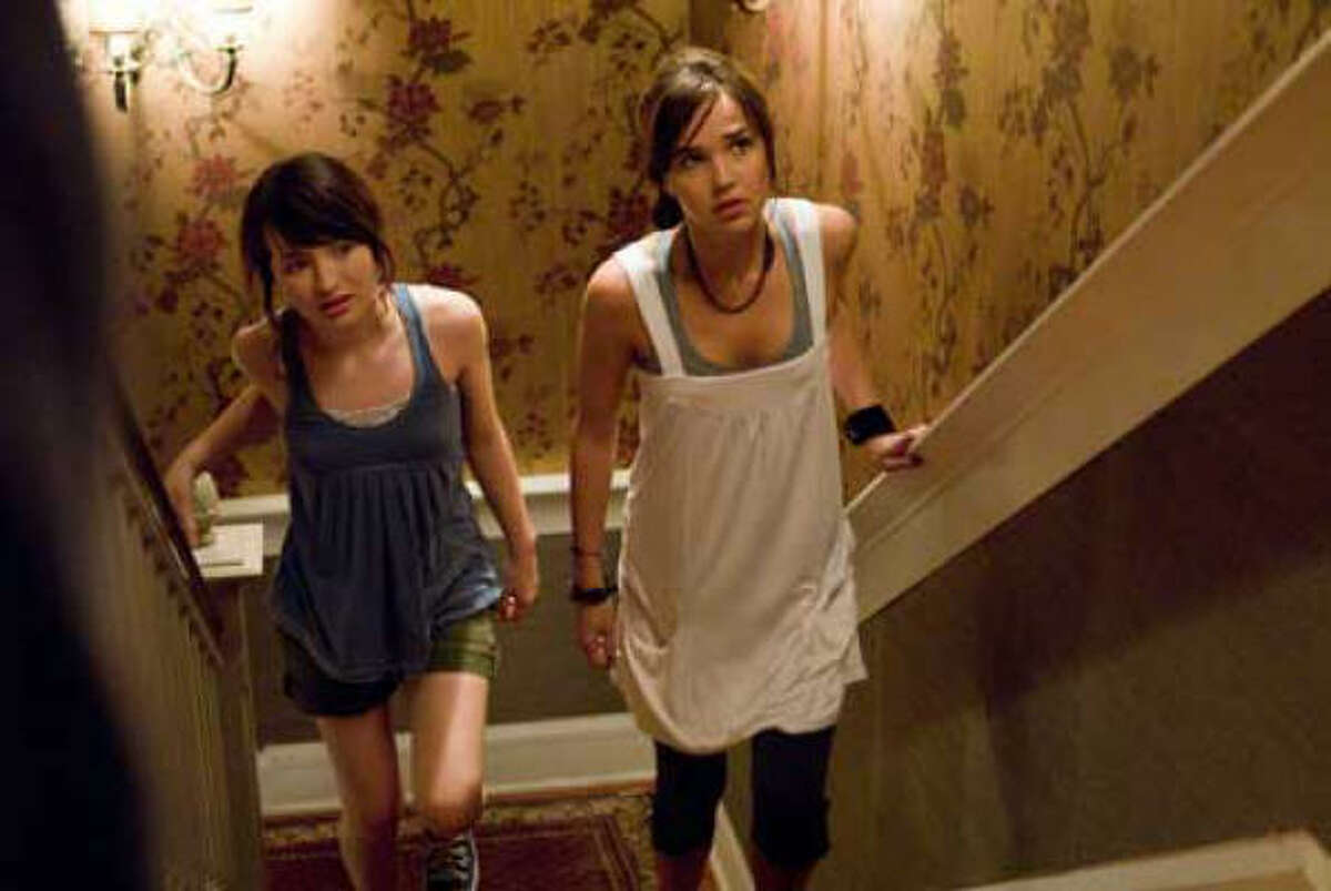 Jan. 30: Emily Browning, left, and Alex are suspicious of their father's new fiancée in the haunting suspense thriller The Uninvited.