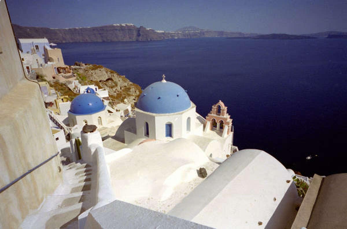 8. Santorini, Greece