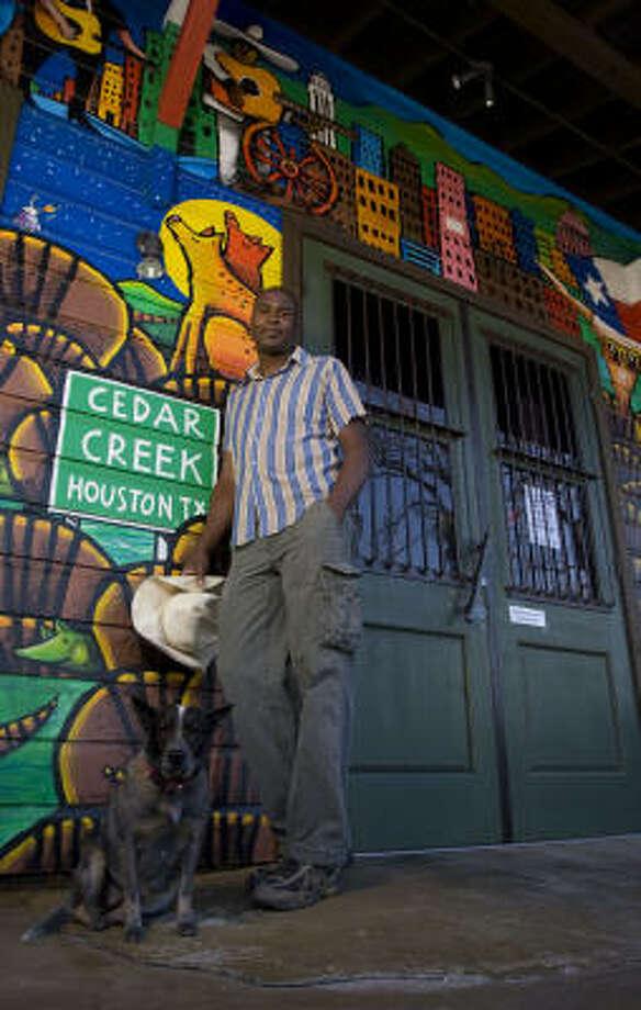 Cedar Creek restaurant owner Gary Mosely. Photo: James Nielsen, Chronicle