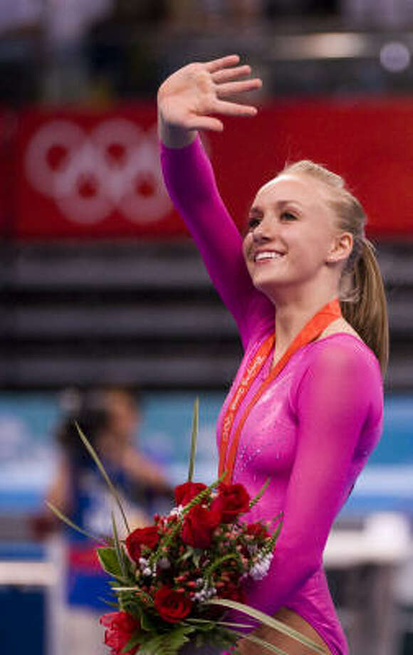 "Nastia Liukin may have a career in television in the future. She has appeared on ""Gossip Girl,"" "" The Price Is Right"" and ""NYC Prep."" Photo: Smiley N. Pool, Chronicle"