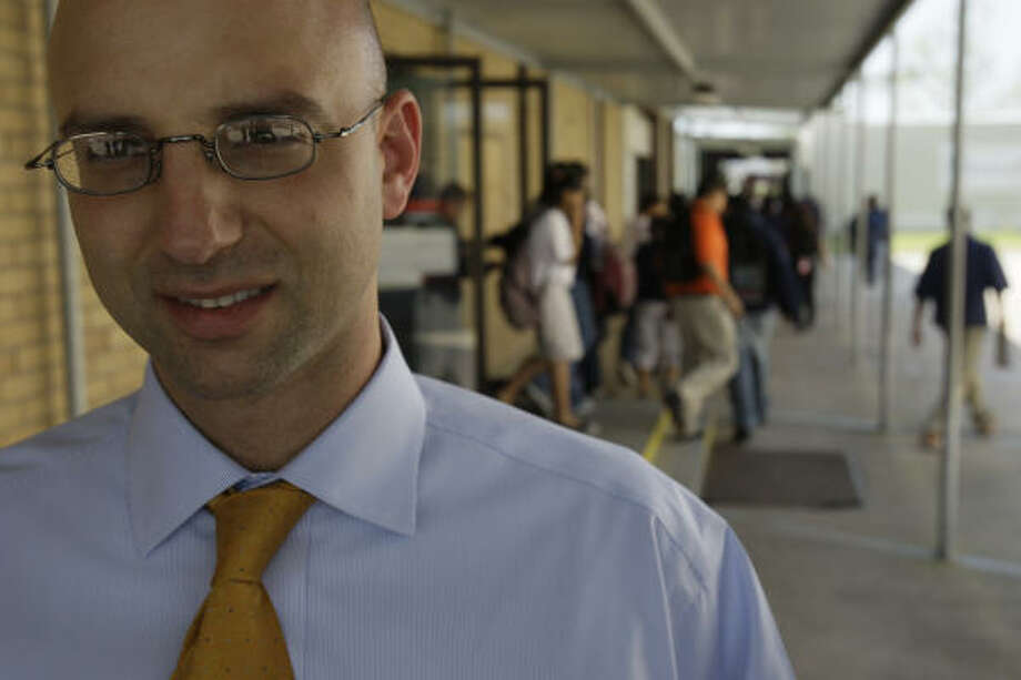 Chris Barbic. Photo: Melissa Phillip, Houston Chronicle