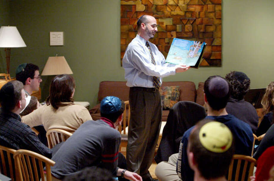 Rabbi Kenny Weiss works to improve cultural understanding among students at Rice University. His focus may be on his Jewish students who visit Houston Hillel, but he works to bridge cultural differences among students of all faiths. Photo: CRAIG H. HARTLEY, SPECIAL TO THE CHRONICLE