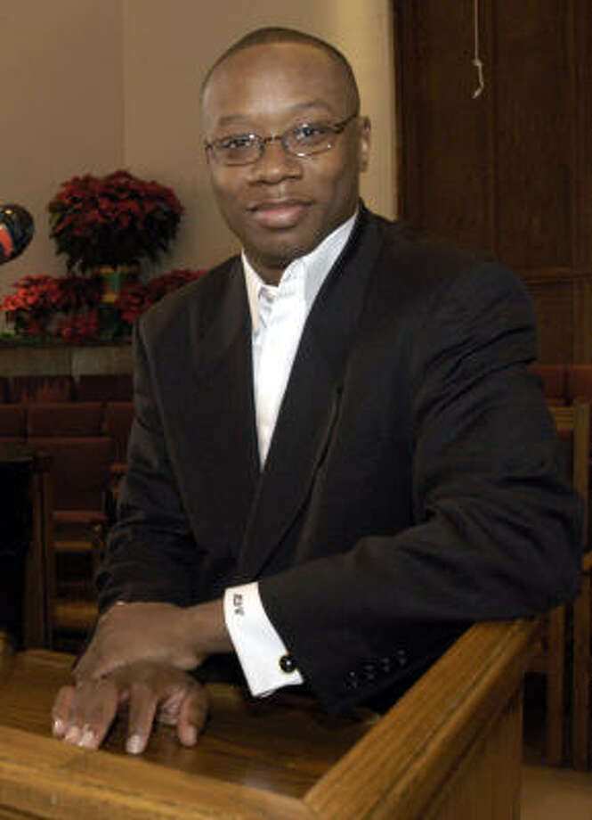 The Rev. Marcus Cosby's church, Wheeler Avenue Baptist, is involved in many community programs as well as mission work in Africa. He's also helped raise funds for for the United Negro College Fund and Martin Luther King, Jr. Memorial in Washington D.C. Photo: Kim Christensen, For The Chronicle