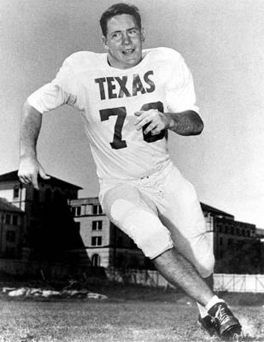 Scott Appleton , defensive tackle Era: 1961-63. The case for: Appleton was the Longhorns' first Outland Trophy winner as the nation's top lineman. He posted 18 tackles and a fumble recovery as No. 2 rolled past No. 1 Oklahoma 28-7 en route to the 1963 national title.