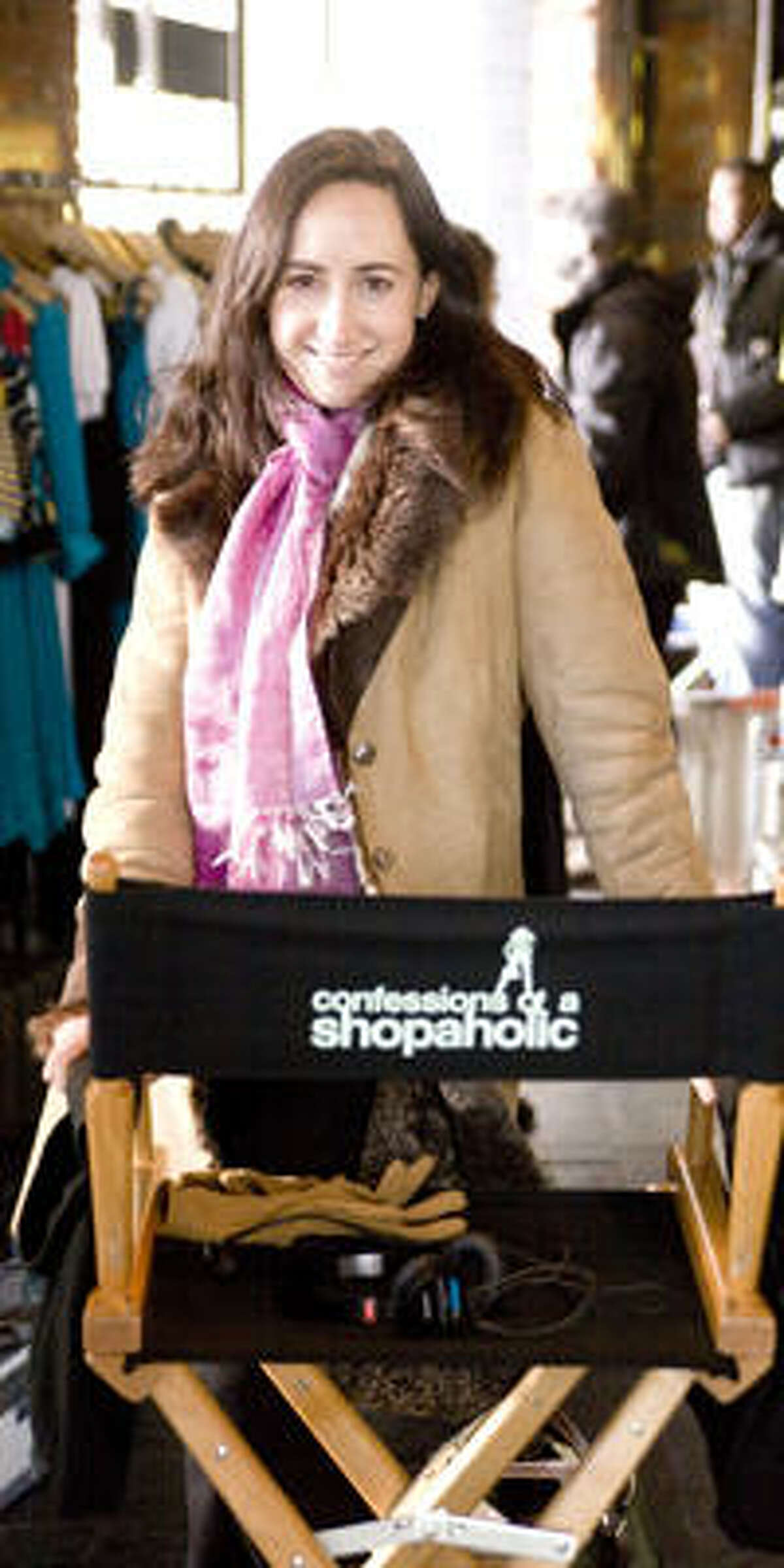 Madeline Wickham is the author of Confessions of a Shopaholic.