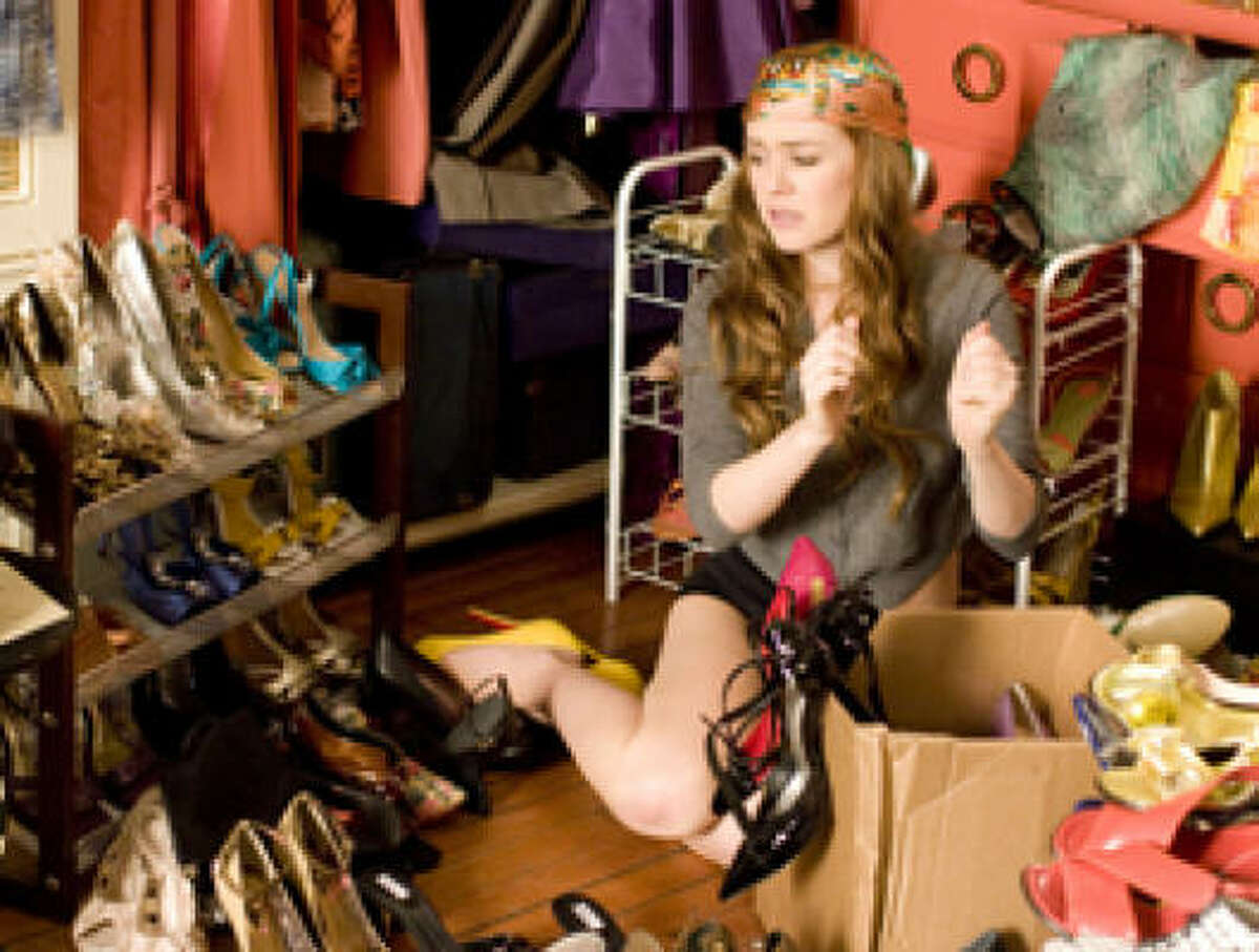 You can never have too many shoes if you're a shopaholic.
