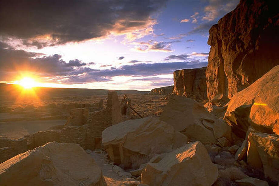 Chaco Canyon in New Mexico Photo: PHILIP GREENSPUN, AP