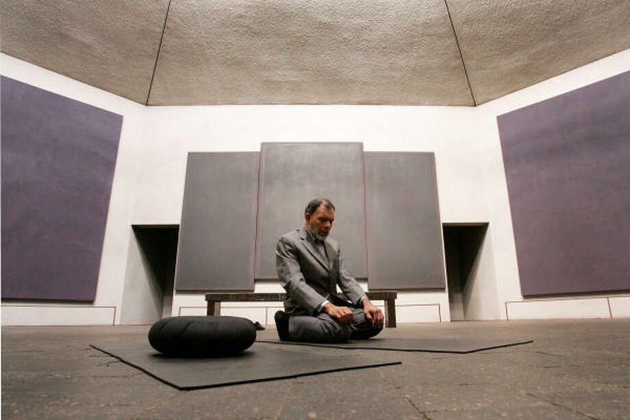 Rothko Chapel. Photo: Bruce Bennett, FOR THE CHRONICLE
