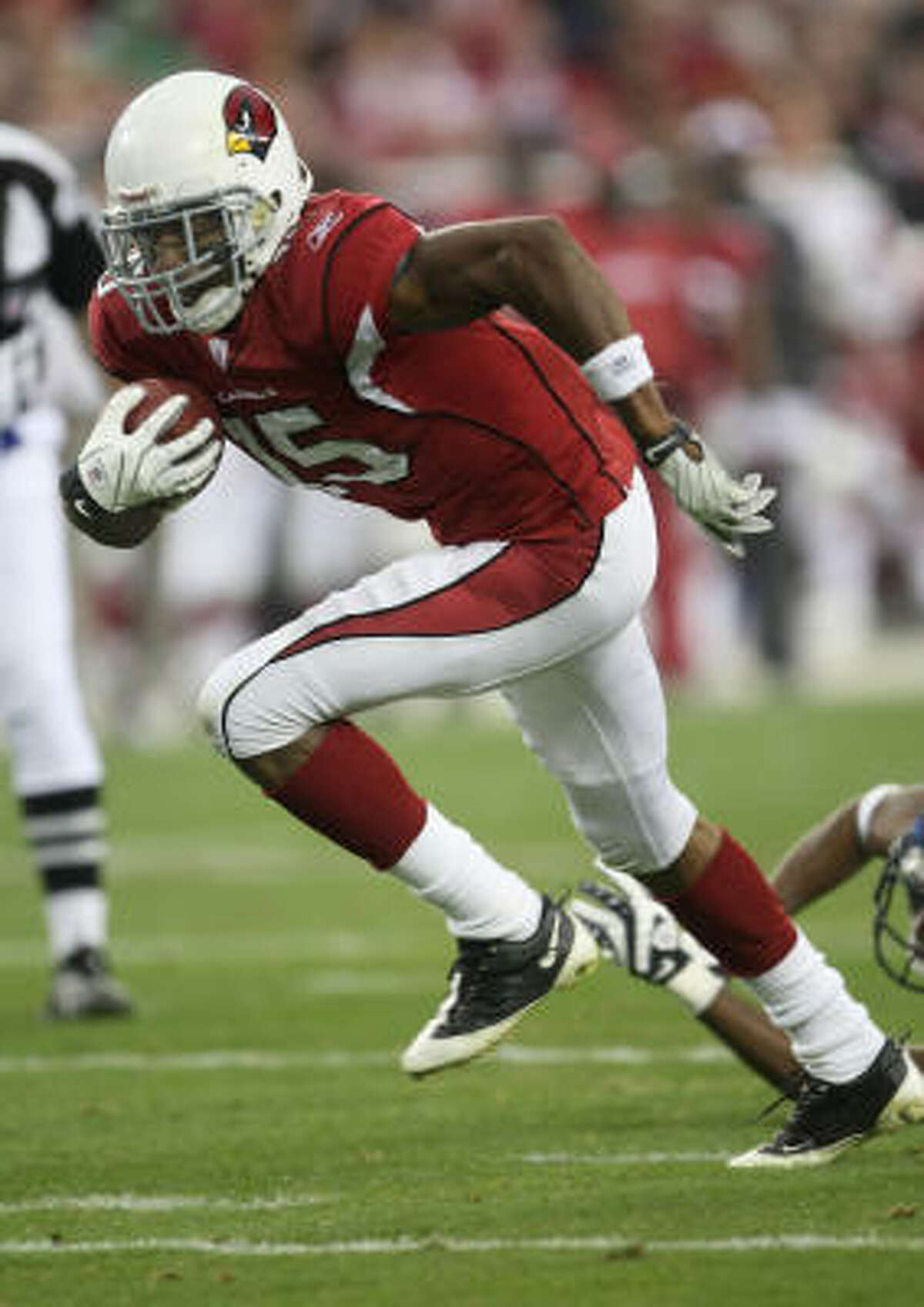 Arizona Cardinals Steve Breaston 84 catches, 1083 yards, 3 touchdowns
