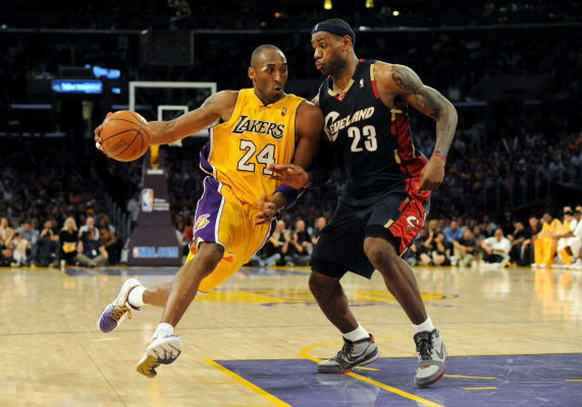 2 - LOS ANGELES LAKERS - (Last wk: 1) - 34-8 - Taking down LeBron James and the Cavs on MLK Day would normally solidify a team at the No. 1 spot from a week ago. But the Lakers got clipped at home by Orlando and that's all it took in a season when there's not much margin for error at the top.