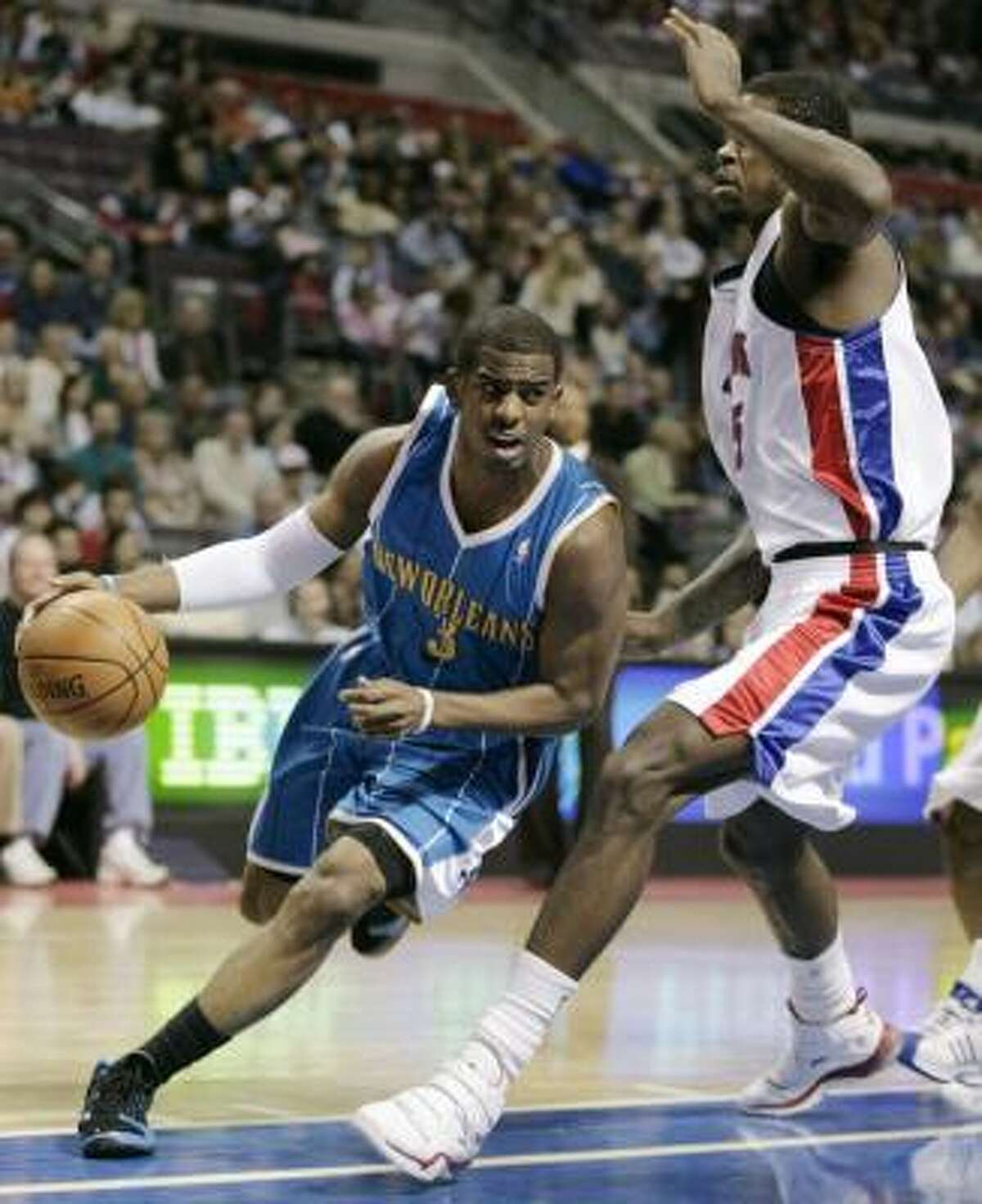 Western ConferenceChris Paul, G, New Orleans Hornets 2,134,798 votes