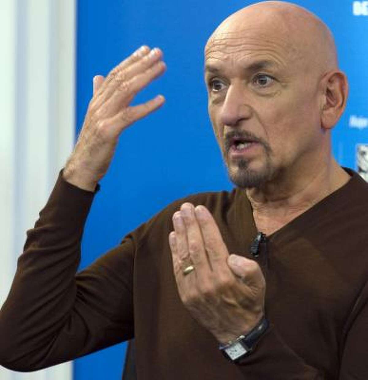 Most Ashamed to Appear in The Love Guru: Ben Kingsley