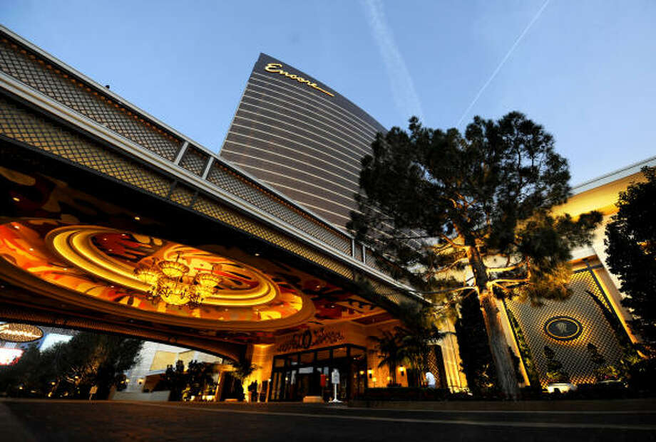 Steve Wynn's $2.3 billion resort Encore opened last month. Tourism is down, but hotels are offering deals to entice visitors. Photo: WALLY SKALIJ, LOS ANGELES TIMES