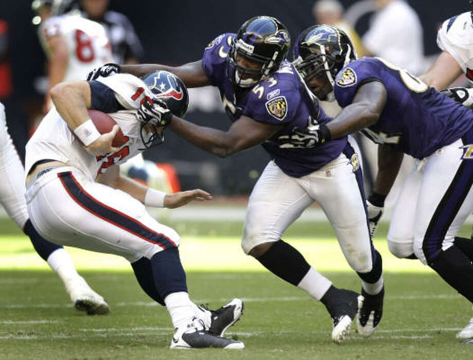 HOUSTON TEXANSLast winning season: Haven't had one. Low point: Jan. 1, 2006, when 20-17 loss to 49ers caps 2-14 season and gives team first No. 1 pick. Some say team blew that, too. High point: Sept. 8, 2002, when the franchise debuted with a 19-10 win over the Cowboys. Is there hope for this team?: Hard to say. A weak defense is not helping matters this season. Photo: Brett Coomer, Chronicle