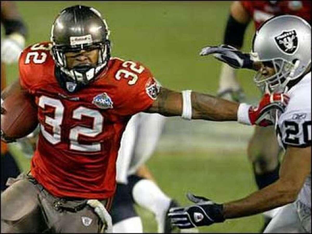 2002 season: Super Bowl XXXVII Buccaneers (1st in defense) over Raiders (2nd in offense)