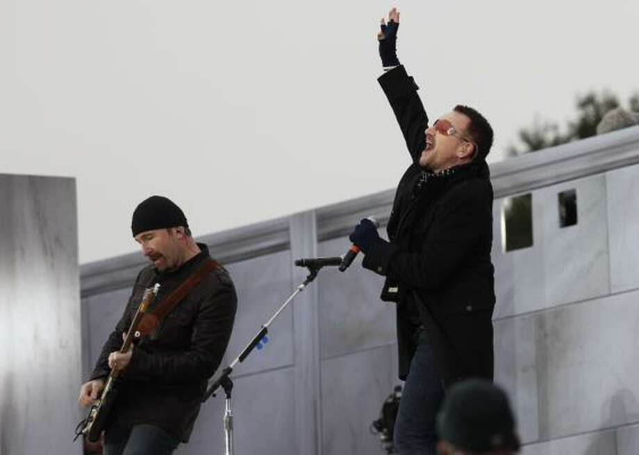 "U2 ""The Joshua Tree""- Three of the band's biggest hits ever are on this record.  Photo: Charles Dharapak, AP"