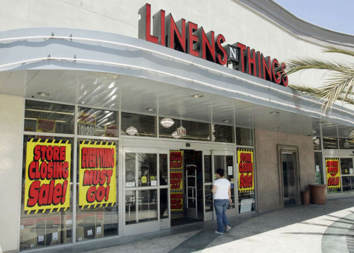 Home goods seller Linens 'N Things began liquidating its stores after originally filing in May for Chapter 11 bankruptcy protection.