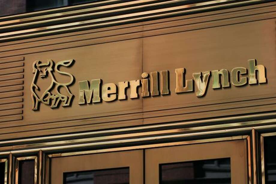 As of Thursday, Jan. 1, investment bank Merrill Lynch will become part of Bank of America Corp. Merrill Lynch lost billions of dollars in the subprime mortgage crisis. Photo: Mark Lennihan, AP