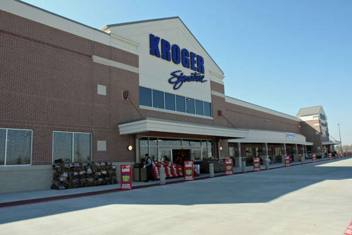Kroger at 10250 Highway 6 in Missouri City opened at 8 a.m. Jan. 16 for eager area shoppers. The 100,000 square-foot store is one of the largest Kroger largest stores.
