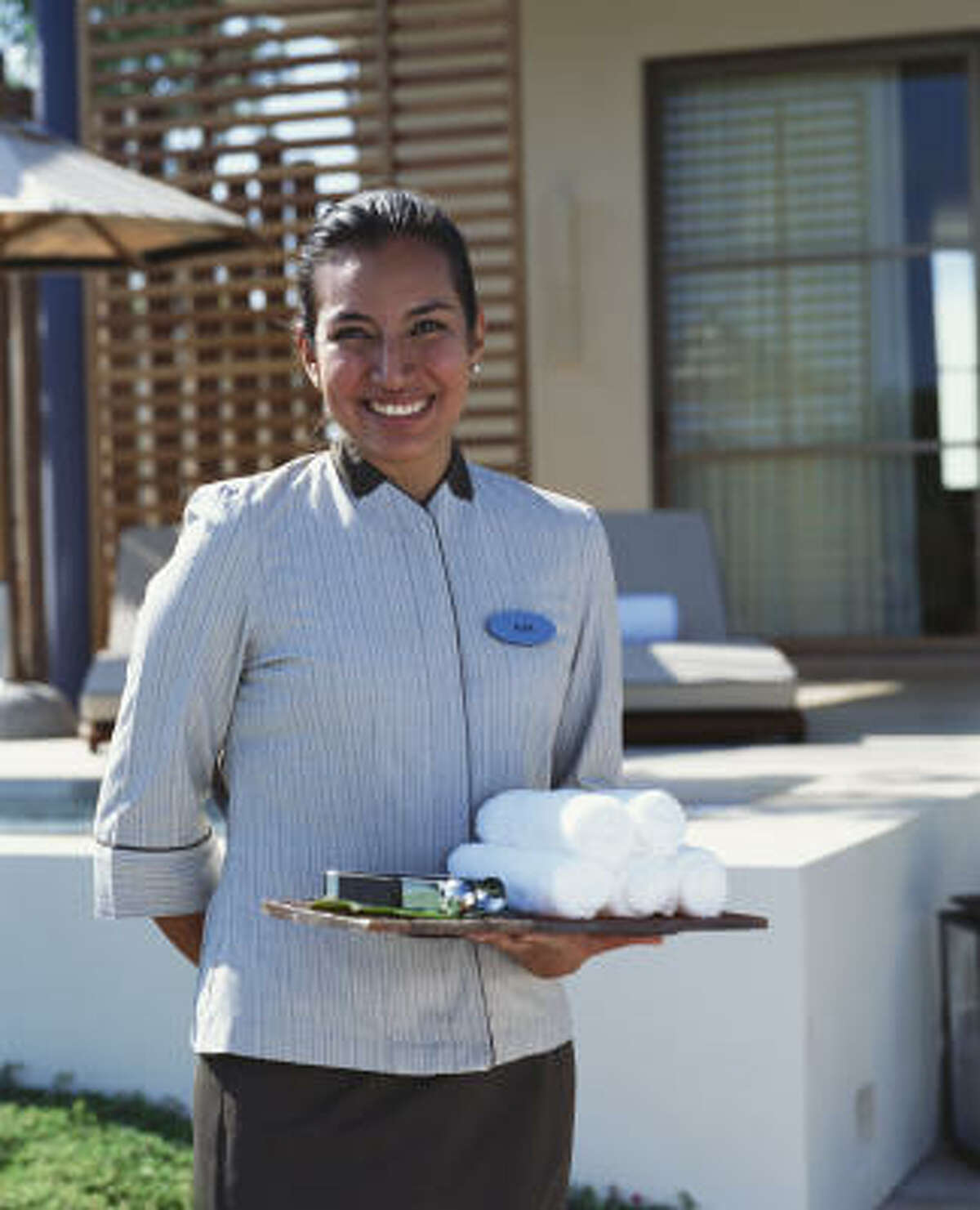 Most rooms at the Rosewood Mayakoba resort come with 24-hour butler service.