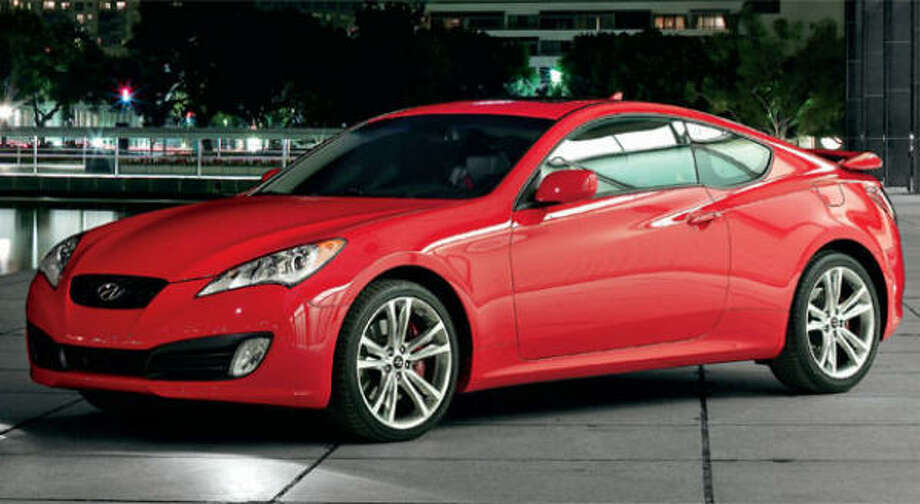 Hyundai's breakthrough 2010 Genesis coupe arrives in showrooms this spring with two engine choices: a 3.8-liter Lambda DOHC V-6 making on the order of 306 hp or a 2.0-liter turbocharged I-4 that spits out about 212 hp Ñ on regular unleaded. A 6-speed manual transmission is standard with both. A 5-speed automatic is optional with the inline four, while a ZF 6-speed auto is matched with the V-6. On SE models, Brembo four-piston calipers put the squeeze on 13.4-inch front brake rotors and 13-in. rear rotors. All other Genesis coupes get 12.6-in. front ventilated rotors and 12.4- in. rear rotors. Photo: Hyundai