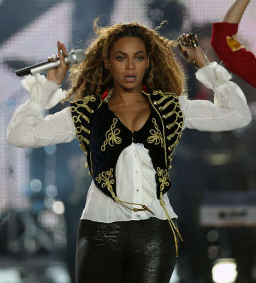 Beyonce Photo: VALERY HACHE, AFP/Getty Images