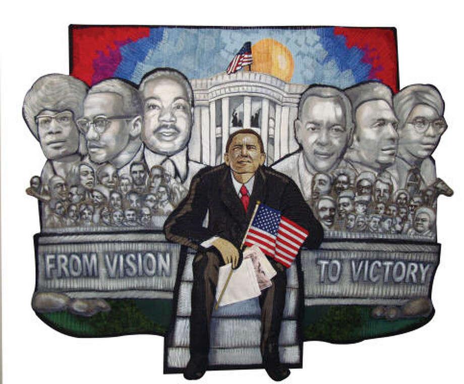 From Vision to Victoryby Carolyn Crump of Houston. Photo: Carolyn Crump