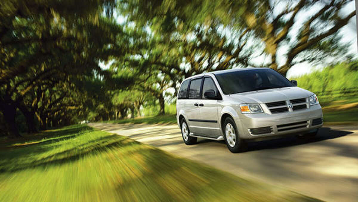 Best of show and best minivan: Dodge Grand Caravan.