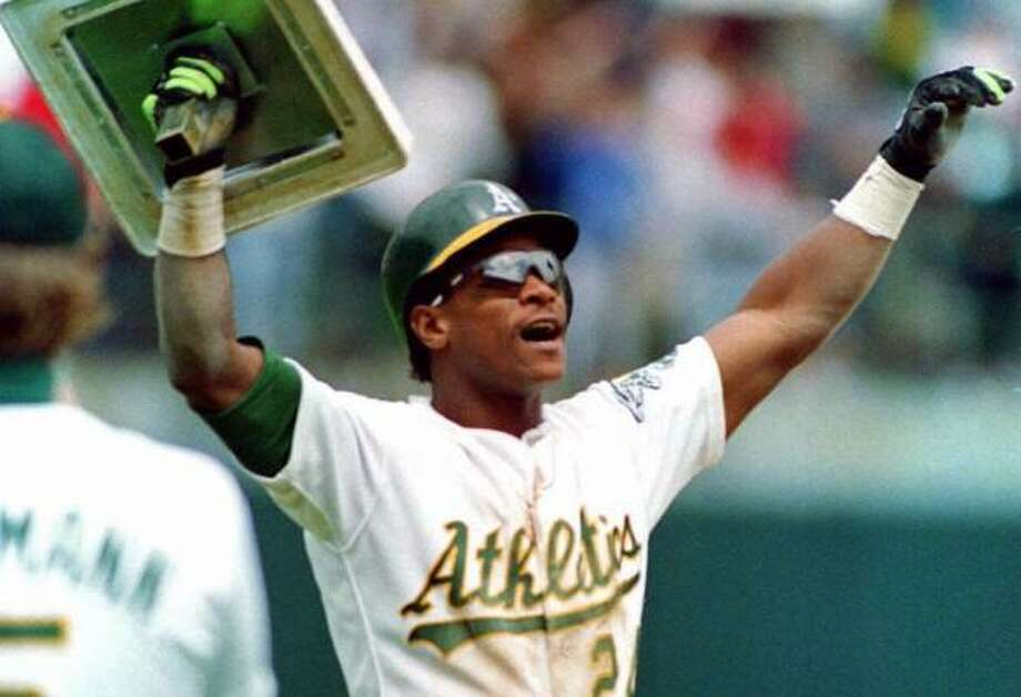 x - Rickey Henderson 511 votes (94.8 percent) x - elected Photo: Alan Greth, AP