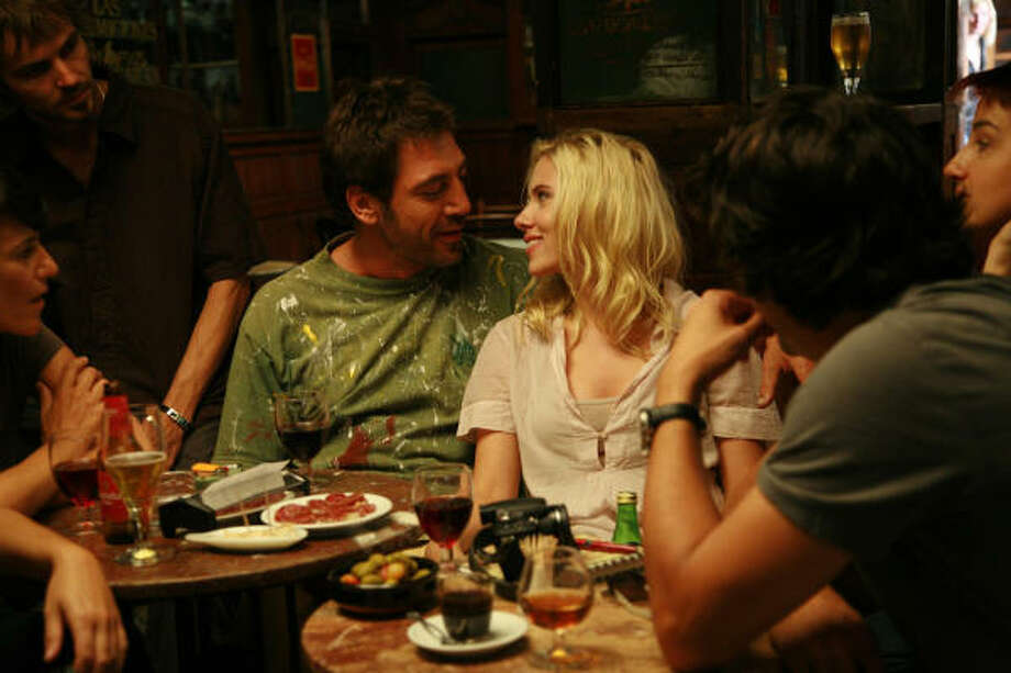 Javier Bardem and Scarlett Johansson star in Woody Allen's Vicky Cristina Barcelona. Photo: Victor Bello, The Weinstein Company