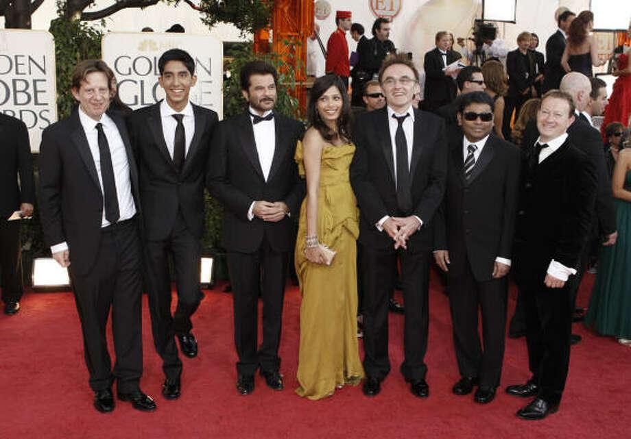 Best picture:Slumdog Millionaire Photo: Matt Sayles, AP