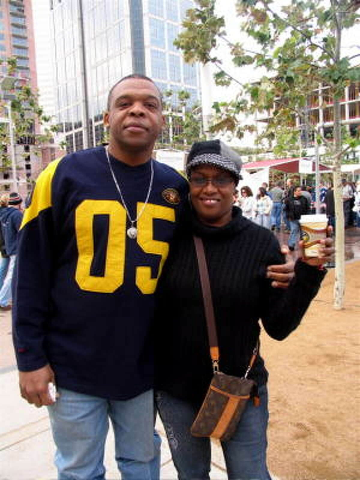 Carl and Sheri Cobbs