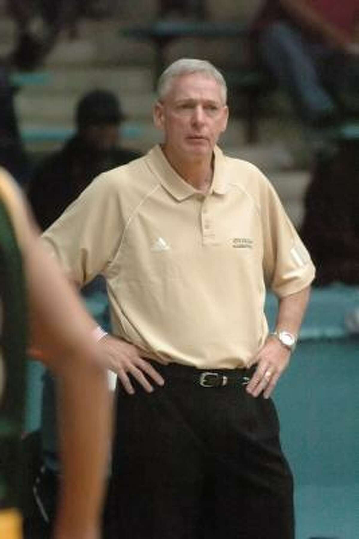 Draudt (father/son) Jim Draudt, boys head coach at Cypress Falls, is the father of Cy Woods boys head coach Chris.