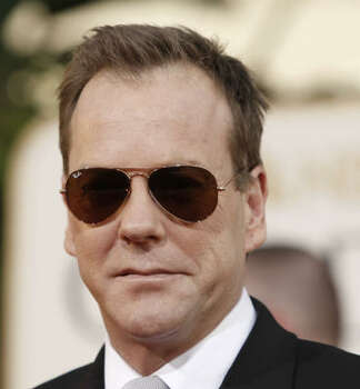 Kiefer Sutherland of '24' made his Broadway debut in February 2011 in the drama 'That Championship Season.' Photo: Matt Sayles, AP