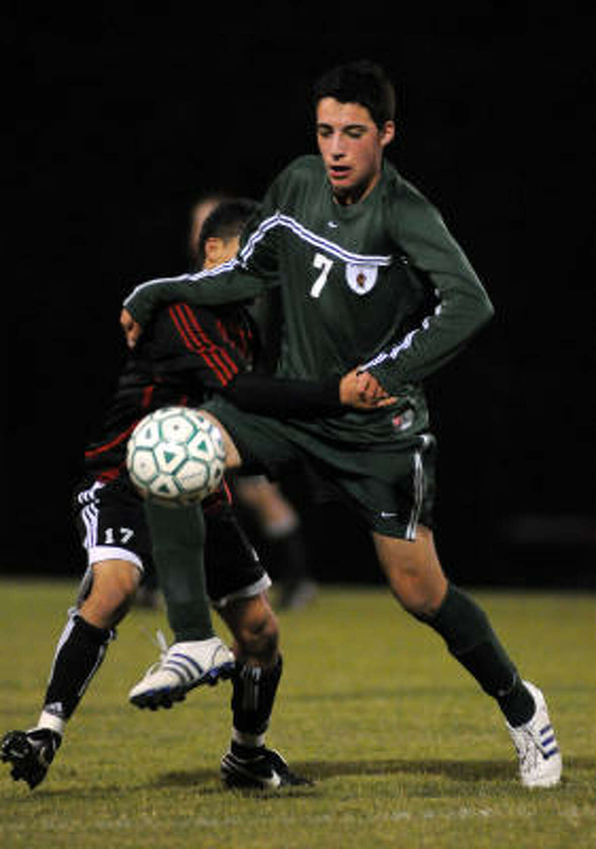 The Woodlands scored three goals in the final 12 minutes to beat Westfield 3-0.