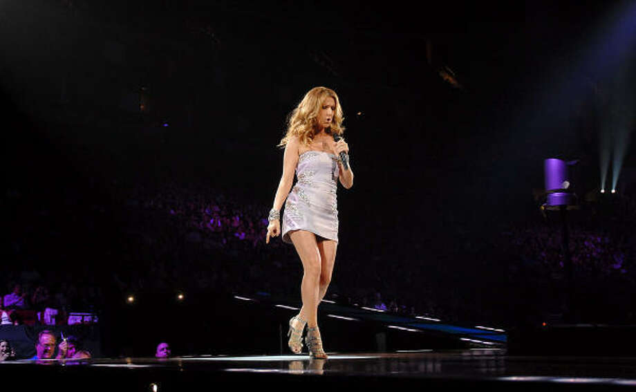 Celine Dion performs at the Toyota Center Friday, Jan. 9. Photo: Dave Rossman, For The Chronicle
