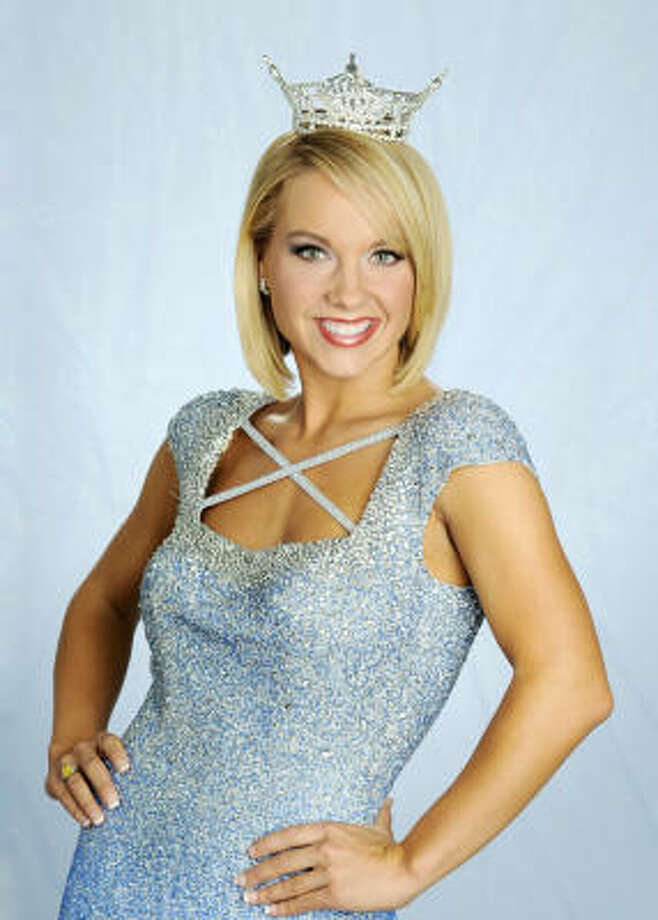Rebecca Robinson is the Miss Texas representative in the Miss America Pageant.