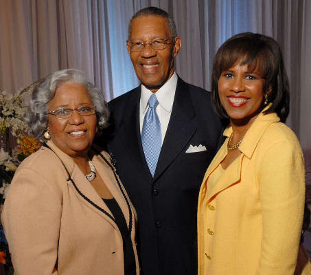 Audrey and the Rev. Bill Lawson with their daughter Melanie Lawson