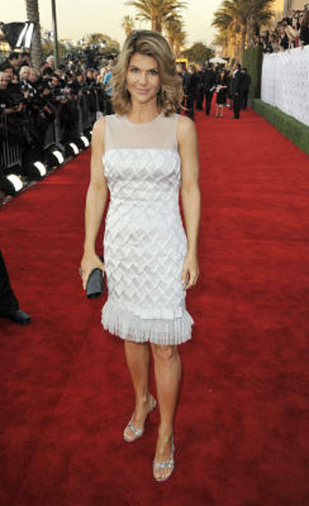 Actress Lori Loughlin arrives at the 35th Annual People's Choice Awards held at the Shrine Auditorium on Jan. 7, 2009 in Los Angeles.
