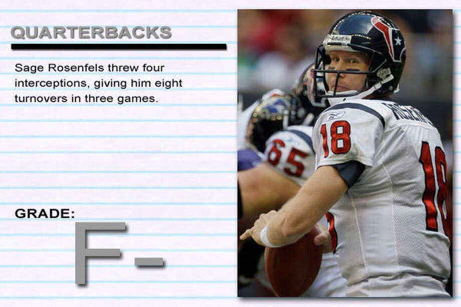 Ravens 41, Texans 13 Photo: Melissa Phillip, Chronicle