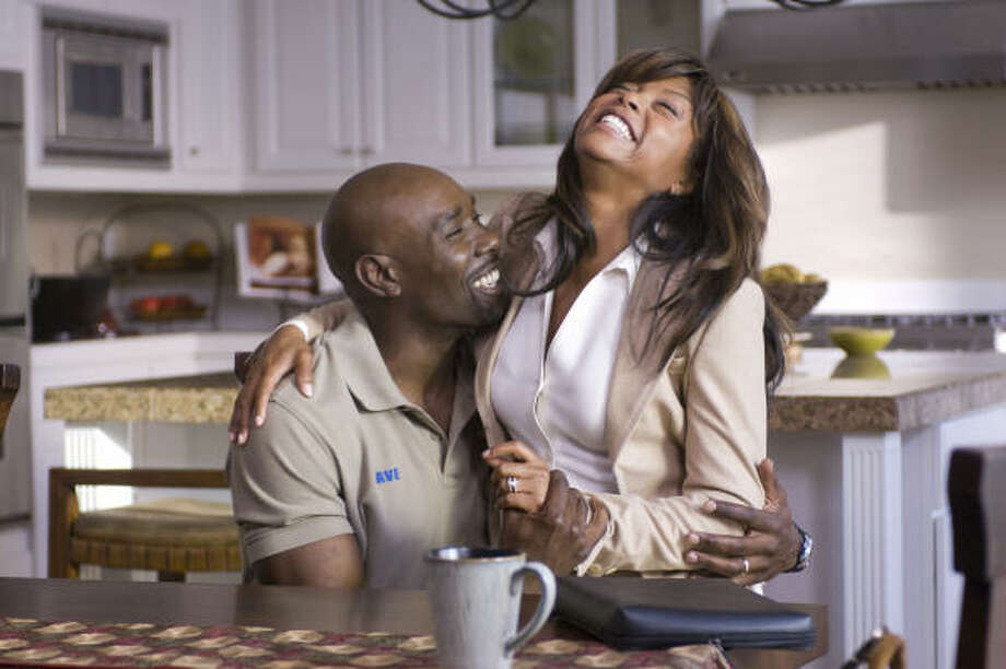 "Morris Chestnut as ""Dave Johnson"" and Taraji P. Henson as ""Clarice Clark"" in TriStar Pictures' drama Not Easily Broken. The film opens Jan. 9. Photo: Ron Phillips, Ron Phillips 