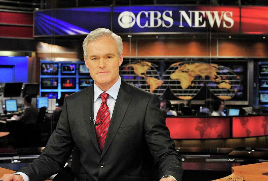 """CBS Evening News"" anchor Scott Pelley. Photo: John Filo, Courtesy Photo / ©2011 CBS BROADCASTING INC. ALL RIGHTS RESERVED"