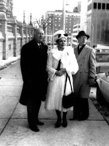 GOV. HUGH CAREY with wife Evangeline and John Picotte. -  (Times Union Archive) Photo: Paul D Kniskern, Sr.