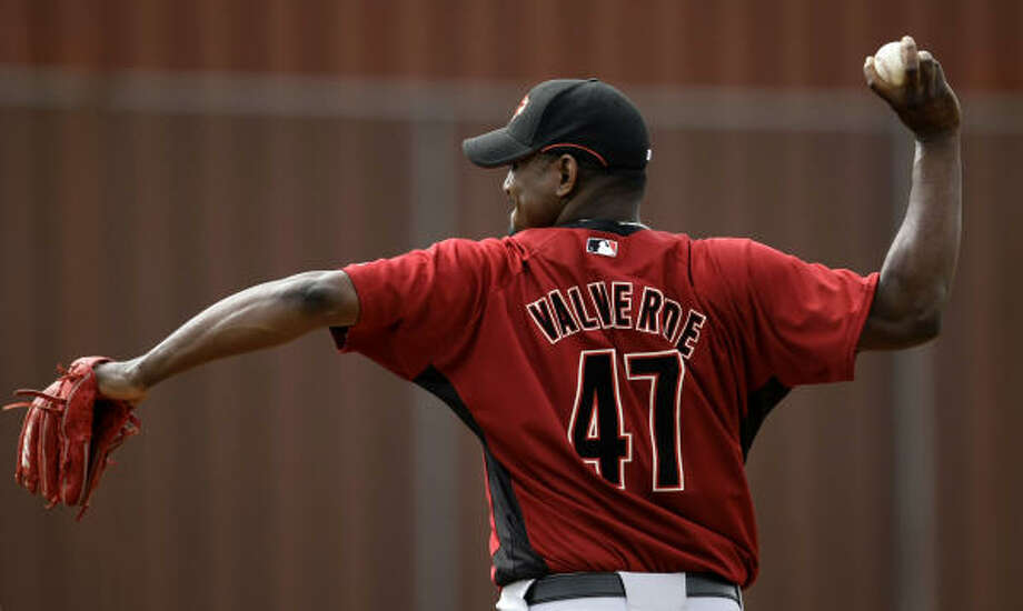 As a boy, Jose Valverde was persuaded by an uncle to try baseball. Photo: Karen Warren, Chronicle