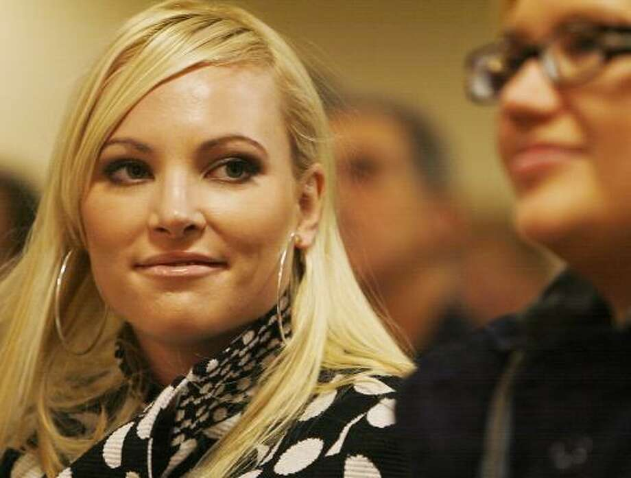 Financial terms were not disclosed for the book now being penned by Meghan McCain. Photo: CHERYL SENTER, AP FILE