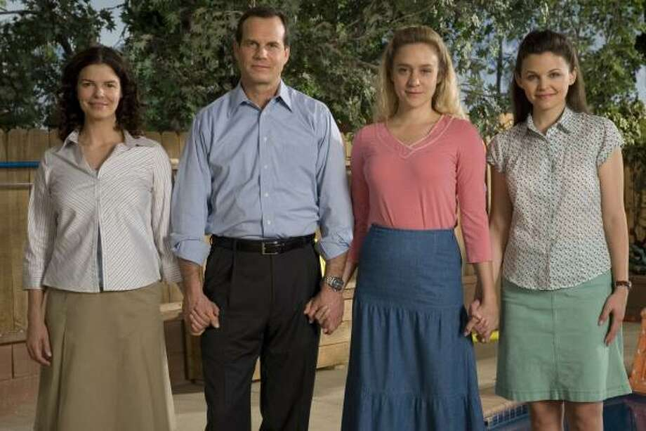 "When Big Love came out, ""It opened up the discussion and allowed a different perspective to be heard,"" said Diane Winston, Knight Chair in Media and Religion at the University of Southern California. The HBO show stars Jeanne Tripplehorn, from left, Bill Paxton, Chloe Sevigny and Ginnifer Goodwin. Photo: Lacey Terrell, HBO"
