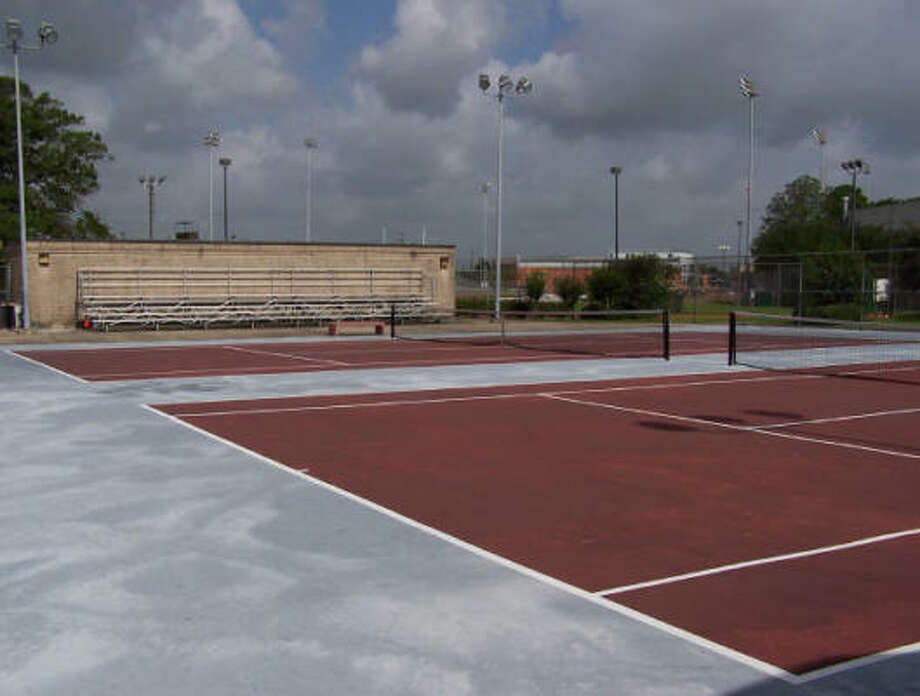 The courts at TSU have been quiet. The school dropped the sport well ahead of the NCAA penalties announced Wednesday. Photo: Texas Southern University