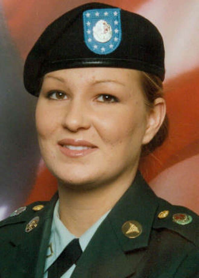Spc. Megan Lynn Touma, 23, was seven months pregnant when she was found dead. Photo: U.S. Army