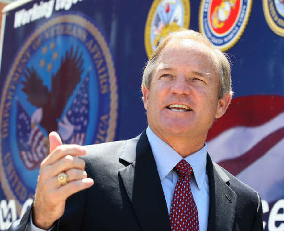 "U.S. Rep. Chet Edwards, shown in Waco Tuesday, said he ""cannot imagine that many Americans would not consider it a privilege"" to be considered a vice-presidential contender. Photo: Jerry Larson, Associated Press"