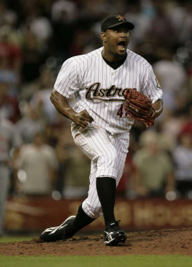 The Astros will likely trade both closer Jose Valverde and third baseman Ty Wigginton soon, writes Richard Justice. Photo: Julio Cortez, Houston Chronicle